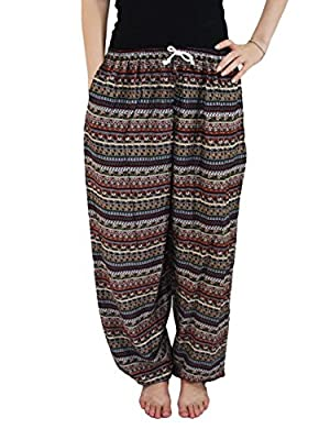 Orient Trail Women's Geometric Drawstring Pajama Lounge Yoga Pants