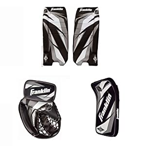 Buy Franklin Sports NHL Junior SX Comp 100 Goalie Set, Small Medium by Franklin