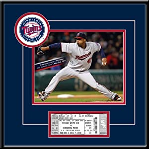 Francisco Liriano 5 3 11 8x10 Photo and Replica Ticket Frame - Minnesota Twins by Thats My Ticket