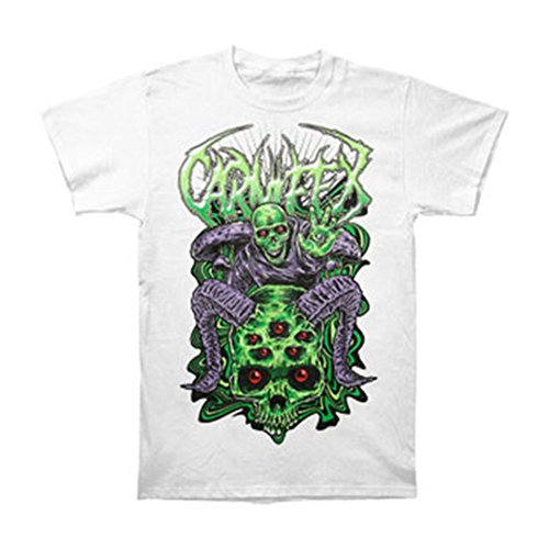Tusgur Carnifex Men's Mushrooms T-shirt White