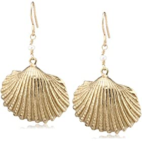 [�`�r�W���G���Y] chibi jewels �V�F���s�A�X(Cockle) E065 Cockle Shell Earrings