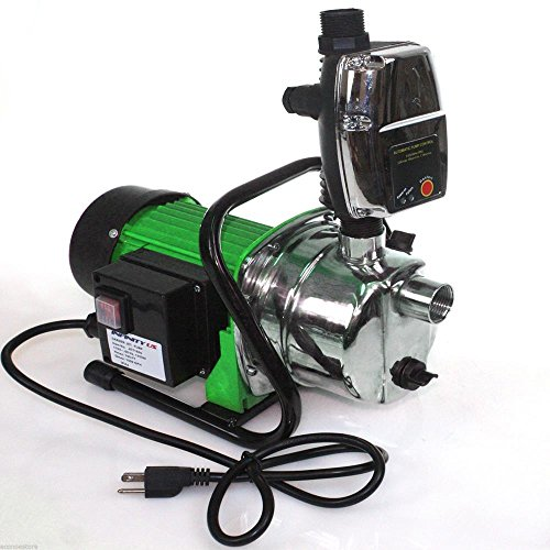 Plumbing & Fixtures16GPM Stainless Steel Jet Shallow Water Pressure Booster Pump w/ Auto Controller (Stainless Steel Floor Vent Cover compare prices)