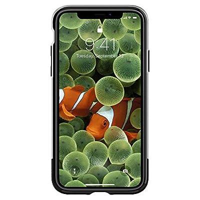【Spigen】 「10周年限定版」 スマホケース iPhone X ケース 初代 オリジナル iPhone 完全再現 Classic One 057CS23345 (アルミニウム・グレー)