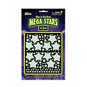 Glow in the Dark Mega Stars