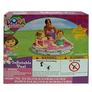 Inflatable pool dora the explorer 36 x 8 - Amazon inflatable swimming pool toys ...