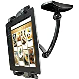 2-In-1 Kitchen Mount Stand cookbook stands for 7-11 inch Tablets surface iPad Air/iPad mini and All Tablets Loctek X7 (black)