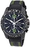 Seiko Men's Quartz Watch Sportura Alarm-Chronograph SNAE97P1 with Leather Strap