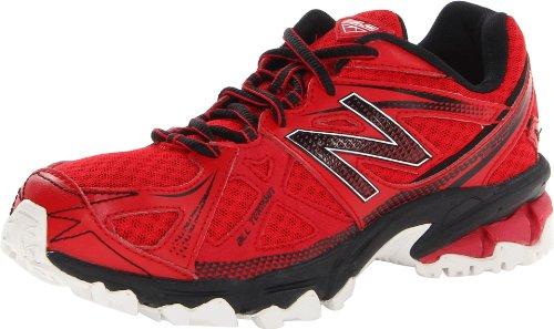 New Balance KJ610 Trail Running Sneaker,Red/Black,3 M US Lit