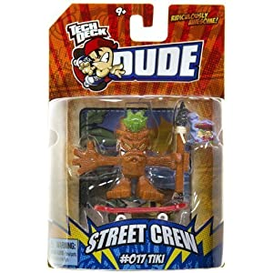 Tech Deck Dude Ridiculously Awesome Street Crew: 017 Tiki