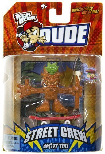 Tech Deck Dude Ridiculously Awesome Street Crew: #017 Tiki