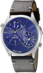 August Steiner Men's AS8167BU Analog Display Quartz Brown Watch