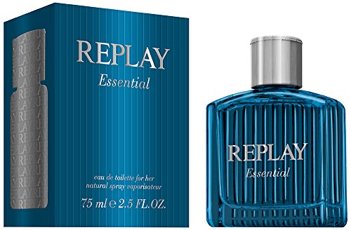 Replay, Essential, Eau de Toilette da uomo, 75 ml