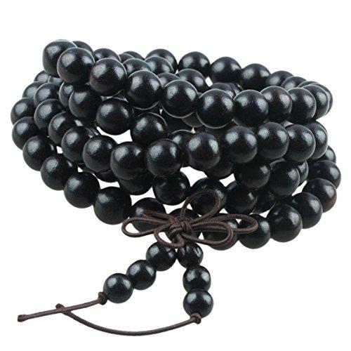 shanxing-108-tibetan-buddhist-prayer-beads-wood-beaded-meditation-buddha-mala-bracelet-necklace-blac