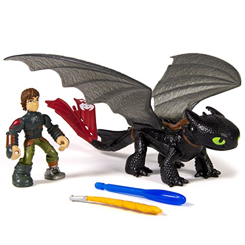 DreamWorks Dragons, Dragon Riders, Hiccup & Toothless Figures