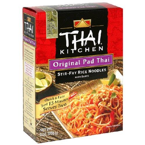 Thai Kitchen Original Pad Thai Stir-Fry Noodles with Sauce, 9-Ounce Unit, (Pack of 12)