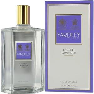 Yardley English Lavender Eau de Cologne Splash for Women, 8.25 Ounce