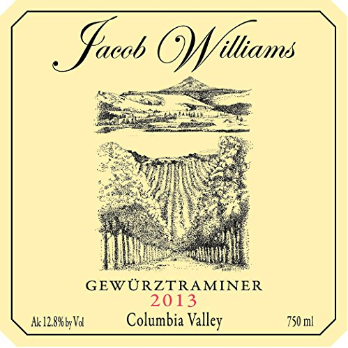 2013 Jacob Williams Winery Gewürztraminer 750 Ml