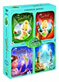 Tinker Bell Collection: Tinker Bell / Tinker Bell and the Lost Treasure / Tinker Bell and the Great Fairy Rescue / Tinker Bell and the Secret of the Wings [DVD]