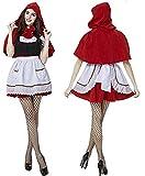 赤ずきんメイド服コスチュームフリーサイズ