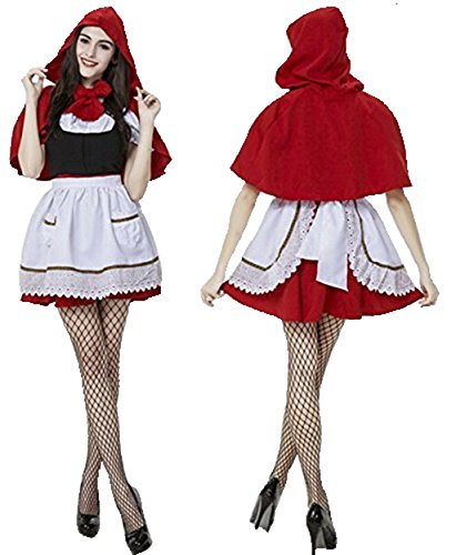PA027 実物撮影 高品質 ハロウィン 仮装 衣装 コスプレ コスチューム ♪赤ずきん メイド服 パーティー イベント 制服