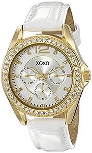 XOXO Women's XO3354 Rhinestone-Accented Watch