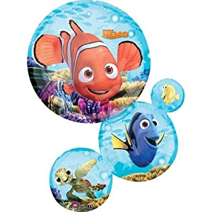 "Nemo & Friends Chain Stack 28"" Mylar Balloon - Disney Pixar Birthday"