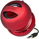 X-Mini II XAM4-R Portable Capsule Speaker, Mono, Red