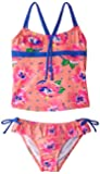 Pumpkin Patch Girls Hibiscus Tankini Swimsuit