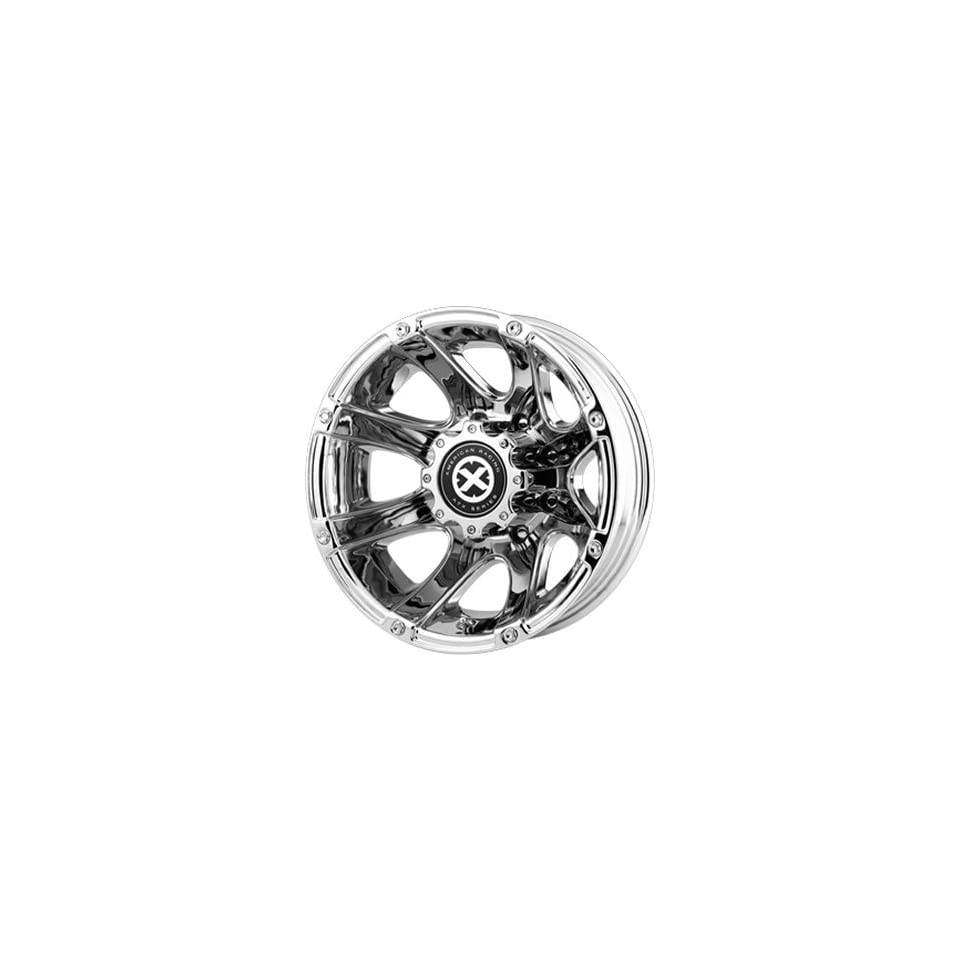 American Racing ATX Ledge 17x6 Chrome Wheel / Rim 8x210 with a  134mm Offset and a 154.30 Hub Bore. Partnumber AX18976089894N