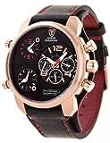 Detomaso DT2018-C - Reloj de pulsera hombre, piel, color negro