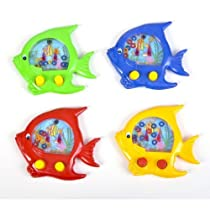 Handheld Water Ring Games ~ Fish Theme ~ Approx. 5