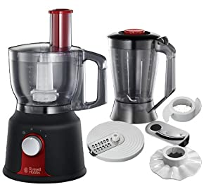 Russell Hobbs Desire Collection 19000-56 Küchenmaschine schwarz / rot