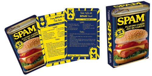 Spam Playing Cards