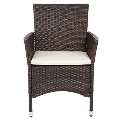 Ultranatura Polyrattan Sessel mit Armlehne, Palma-Serie - 59 x 57 x 85 cm von Ultranatura bei Gartenmöbel von Du und Dein Garten