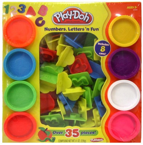 Hasbro PD 21018 Play Doh Numbers and Letters N Fun