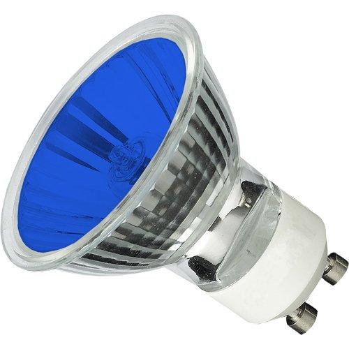 Cbconcept® 3Xgu1035W-B Blue Color Halogen Light Bulb Gu10 120Volt 35Watt - 3 Bulbs