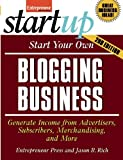 img - for Start Your Own Blogging Business (StartUp Series) book / textbook / text book