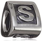 Pandora Sterling Silver Pandora Sterling Silver Alphabet Letter - S - Charm - 790323S - Moments Alpha Collection