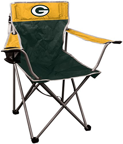 NFL Green Bay Packers NFL Kickoff Quad Folding Chair Bay Packers, 250lb rating (Green Bay Packers Quad Chair compare prices)