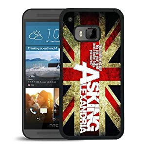 HTC One M9 case,Custom Asking Alexandria Black HTC One M9 cover at Gotham City Store
