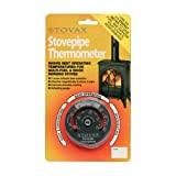 Stovax Stove Flue Pipe Thermometer Temperature Gauge