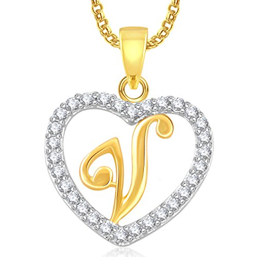 Meenaz-V-Letter-Heart-Pendant-Locket-Alphabet-For-Women-And-Men-With-Chain-Gold-Plated-In-American-Diamond-Cz-Jewellery-Set-Love-Valentine-Gifts-PS412