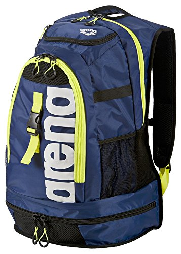 Arena Fastpack 2.1 Zaini - Blu scuro/Giallo Fluo, Large, Large