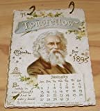img - for THE LONGFELLOW CALENDAR FOR 1895 (No. 1215 (?)) book / textbook / text book