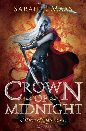 Cover of Crown of Midnight (Throne of Glass)
