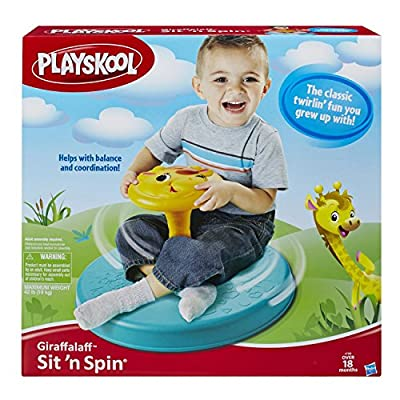 Playskool Giraffalaff Sit n Spin Toy by Playskool