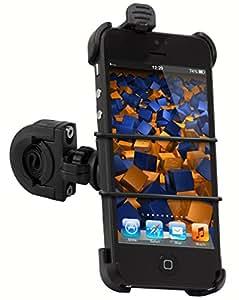 mumbi Fahrradhalterung iPhone 5 5S TwoSave (doppelt gesichert) für Motorrad und Fahrrad Halterung