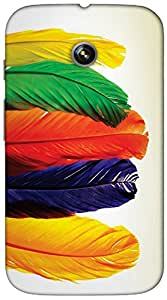 Timpax protective Armor Hard Bumper Back Case Cover. Multicolor printed on 3 Dimensional case with latest & finest graphic design art. Compatible with only Motorola Moto - E-1st Gen. Design No :TDZ-20234