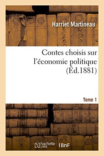 Contes choisis sur l'économie politique. Tome 1