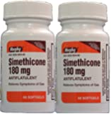 Simethicone 180mg Softgels Anti-Gas (Compare to Phazyme Ultra Strength) 120ct